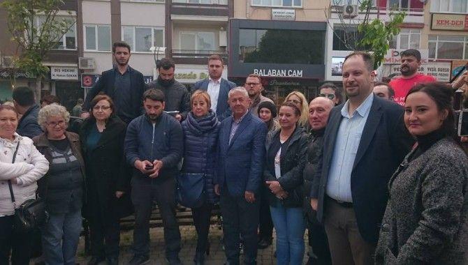 CHP Gençlik Kolları Emiroğlu'na tepkili