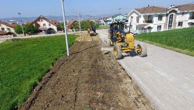 Hünkar Sokakta yol genişletme çalışması