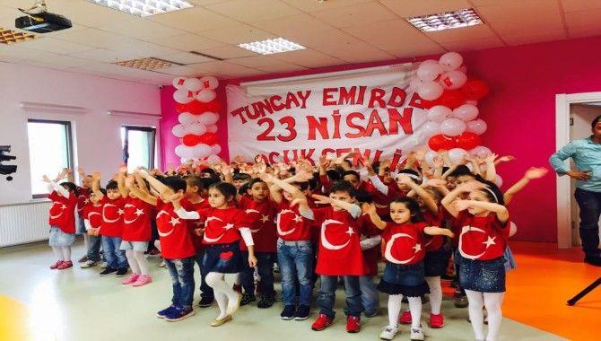 Tuncay Emir Anaokulları 23 Nisan'ı coşkuyla kutladı