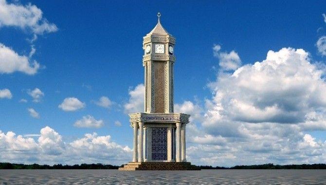 Başiskele'ye yeni saat kulesi