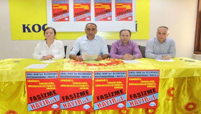1 Mayıs Tertip Komitesi taleplerini açıkladı