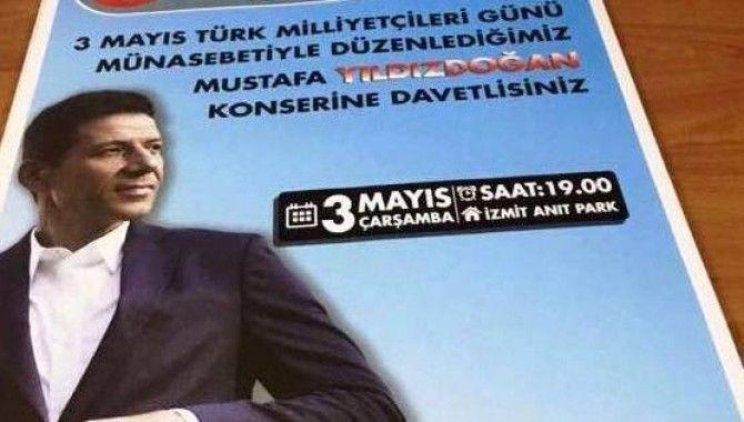 Ülkü Ocakları'ndan Mustafa Yıldızdoğan konseri