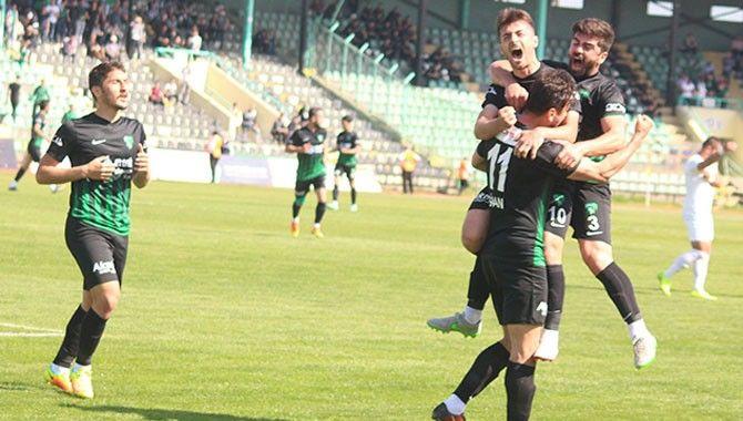 Kocaelispor'un Play-Off sevinci: 2-1