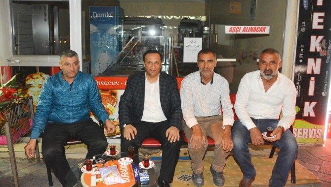 Başkan Toltar, teravih buluşmaları sürdürüyor