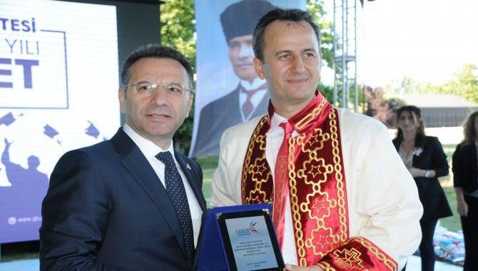 GTÜ'de mezuniyet töreni