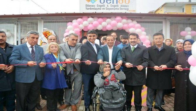 DENAD hizmet binası açıldı