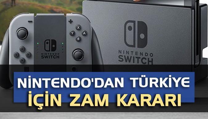 Nintendodan Türkiye için zam kararı