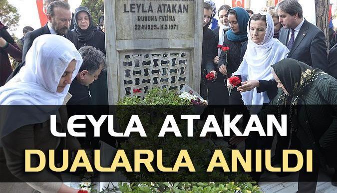 Leyla Atakan, dualarla anıldı