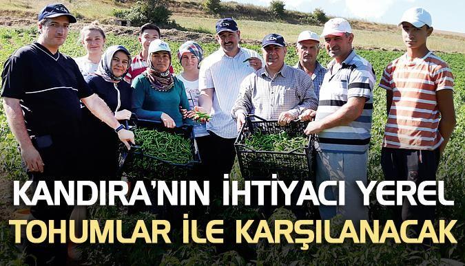 Kandıra'nın ihtiyacı yerel tohumlar ile karşılanacak