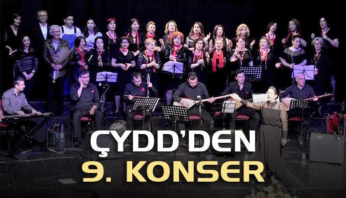 ÇYDD'den 9. konser