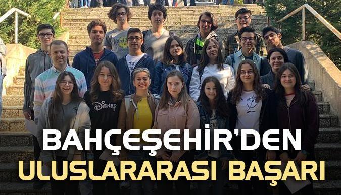 Bahçeşehir'den uluslararası başarı