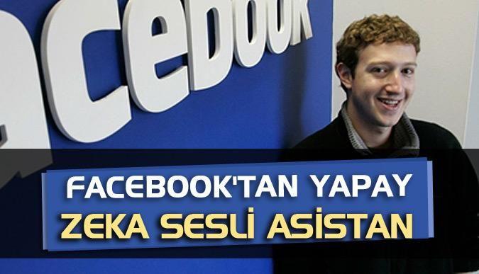 Facebooktan yapay zeka sesli asistan