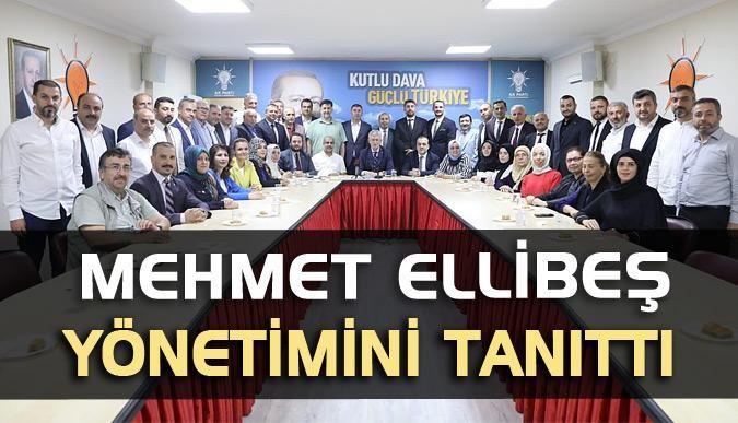 Mehmet Ellibeş yönetimini tanıttı