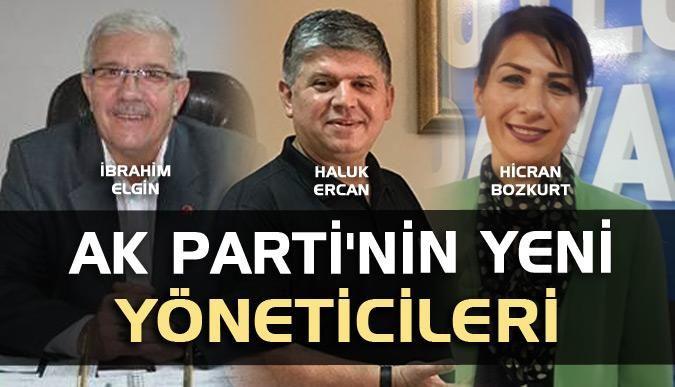 AK Partinin yeni yöneticileri
