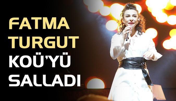 Fatma Turgut KOÜ'yü salladı