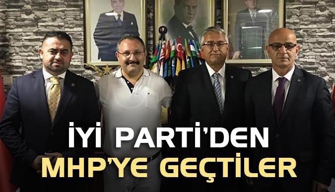 İYİ Parti'den MHP'ye geçtiler