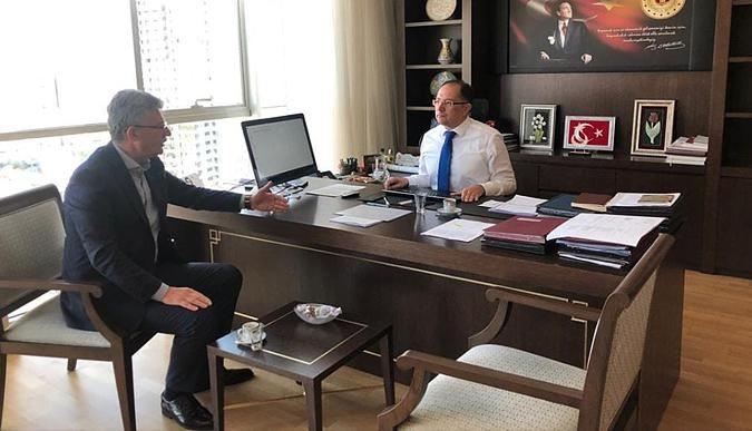 Ellibeş, Ankara'da temaslarda bulundu