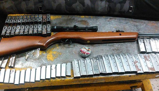 Silah kaçakçılarına büyük operasyon!