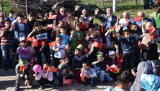 İHH'dan 'Köyün Neşesi Çocuklar' etkinliği
