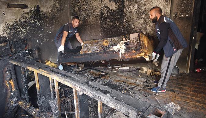 Evi yanan vatandaşa İzmit Belediyesi koştu