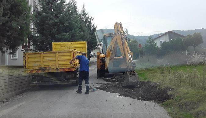 Başiskele yolları kış mevsimine hazırlanıyor