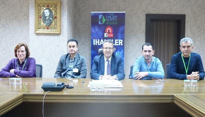 İzmit Belediyesi'nde madeni yağ alım ihalesi gerçekleştirildi