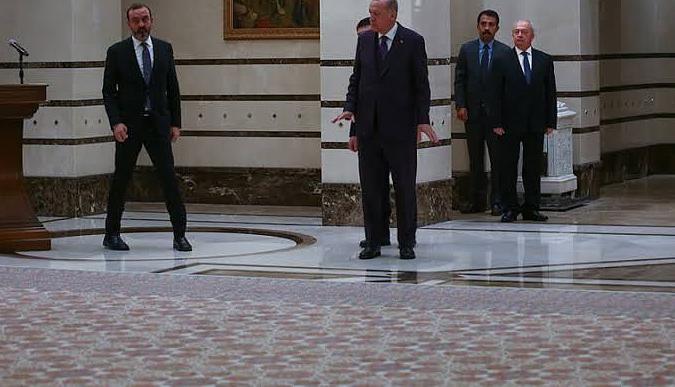 Cumhurbaşkanlığı Sarayında Hereke halısı