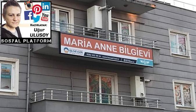 Maria Bilgievi'nin tabelası değişti
