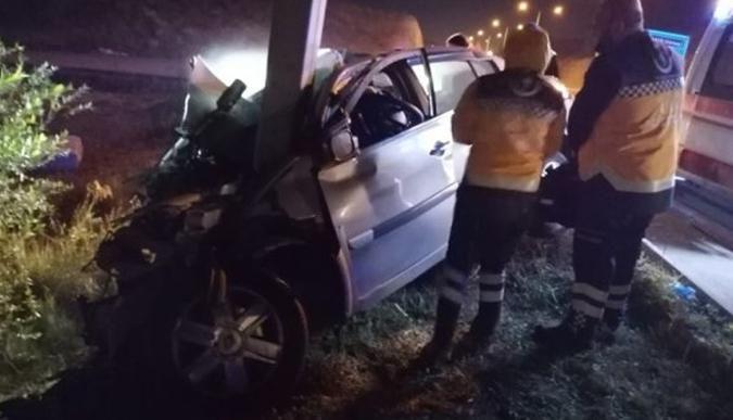 Gölcük'te görevli astsubay kazada hayatını kaybetti
