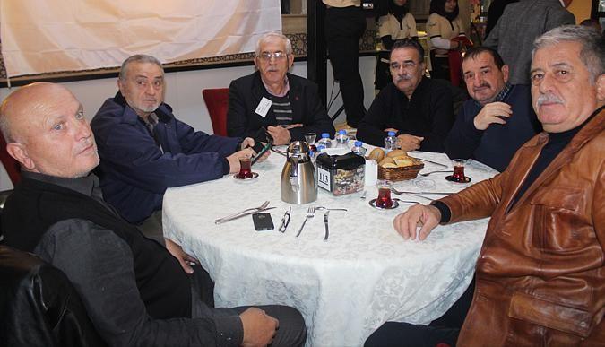 Tüpraş emeklileri buluştu