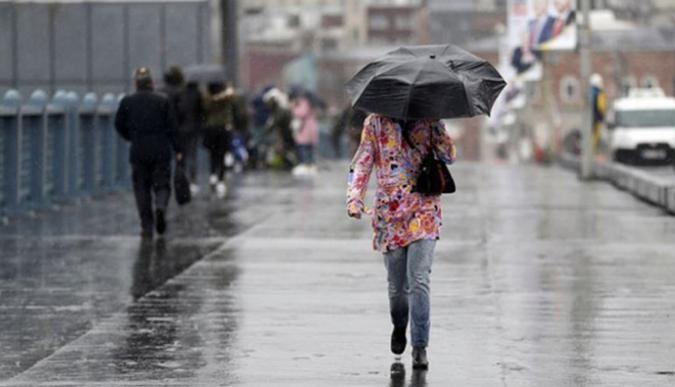 Kocaelide yağışlı hava devam edecek