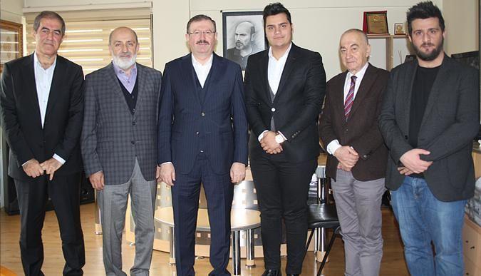 İlhan Bayram'dan gazetemize ziyaret