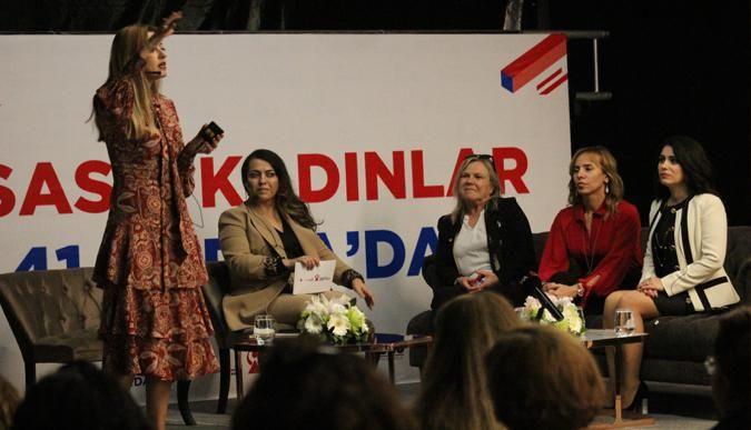 Girişimci kadınlar Hikayelerini paylaştı