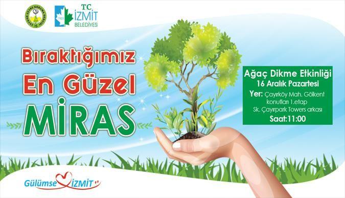 İzmit Belediyesi ağaç dikecek