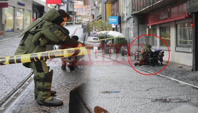 Fethiye Caddesinde bomba paniği!