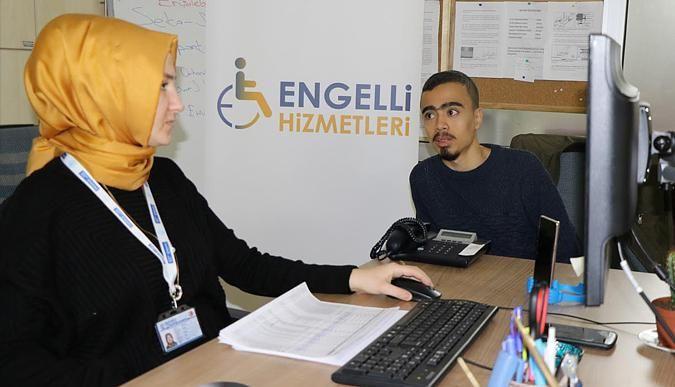 Engelli bireylere E-KPSS tercih danışmanlığı hizmeti