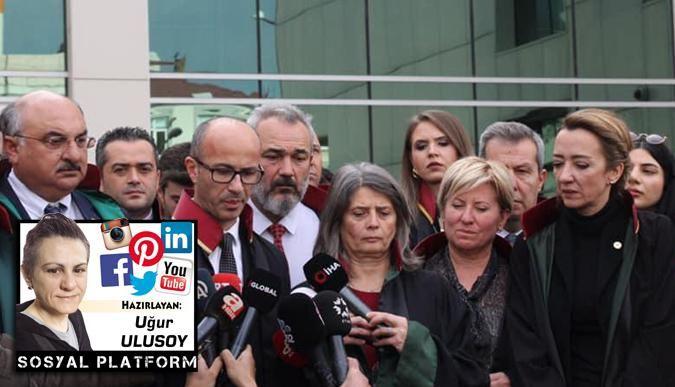 Candemir, Ceren Özdemir'in duruşmasına katıldı