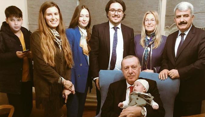 Cumhurbaşkanı, Hülagü'yü evinde ziyaret etti
