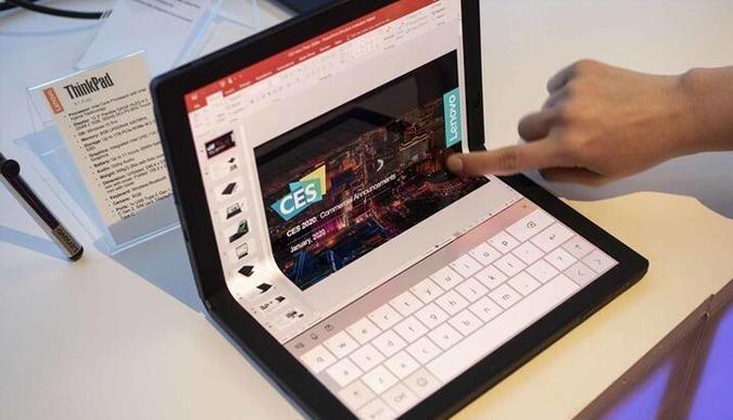 Lenovodan kitap gibi katlanan bilgisayar