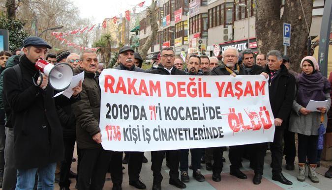 2019'da Kocaeli'de 71 işçi öldü