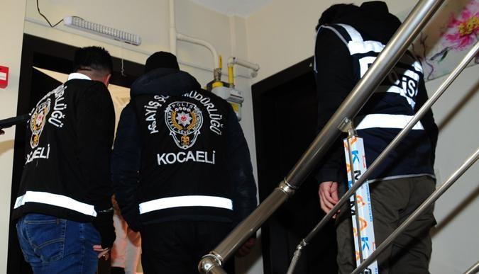 Kocaelide çeşitli suçlardan aranan 71 kişi yakalandı!