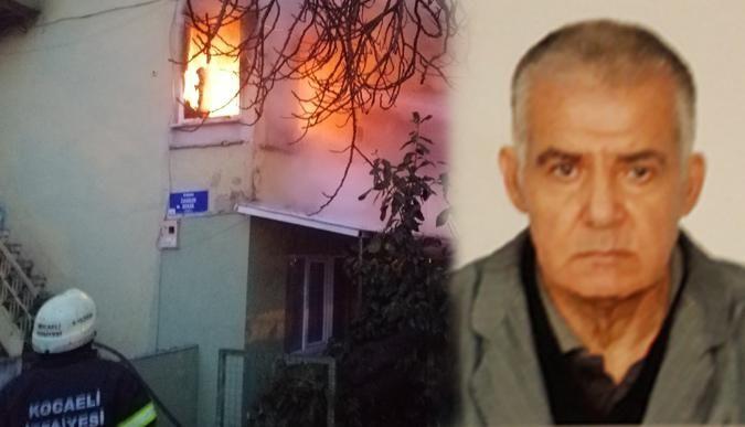 Yangında yaralanan şahıs hayatını kaybetti