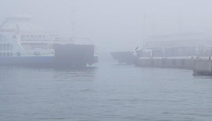 Kocaelide deniz seferlerine sis engeli