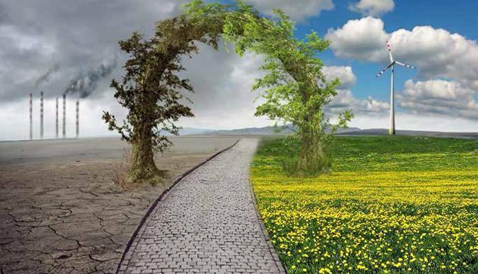 Değişen Mevsimler ve Dünya Kirliliği