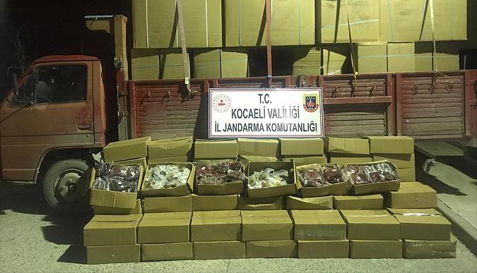 Kocaeli Son Dakika - Kocaelide kaçak tütün operasyonu!