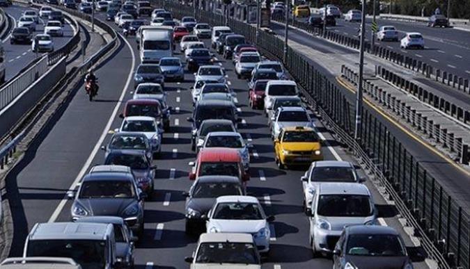Kocaeli'deki araç sayısı 400 bini geçti