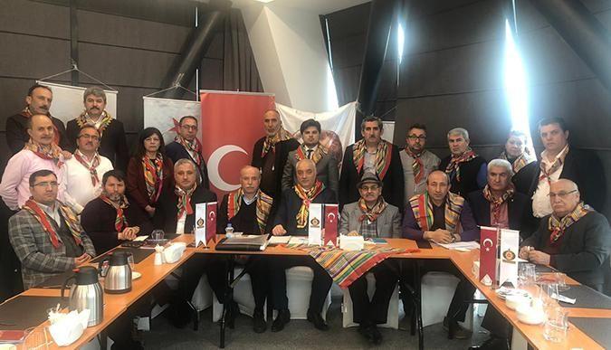 ÜST- Türk Dünyası Yörük Türkmen Birliği'nden HDP'ye İdlib tepkisi