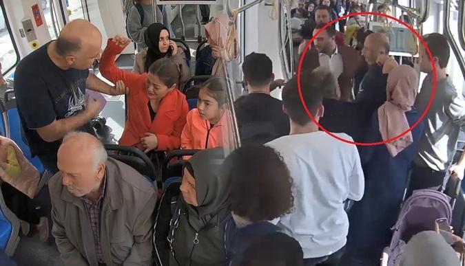 Tramvayda kadına şiddet sosyal deneyi