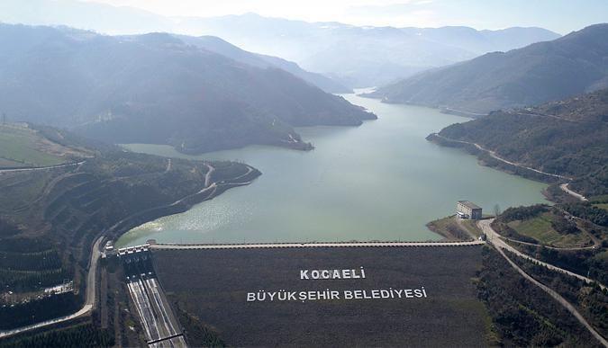 Yuvacık Barajı'nda su seviyesi yüzde 97