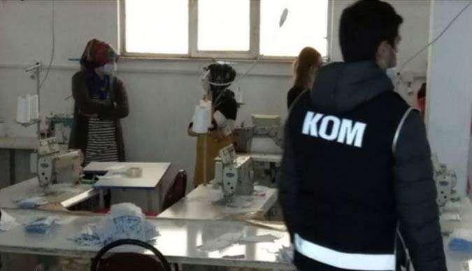 Kocaelide 90 bin maske ele geçirildi!